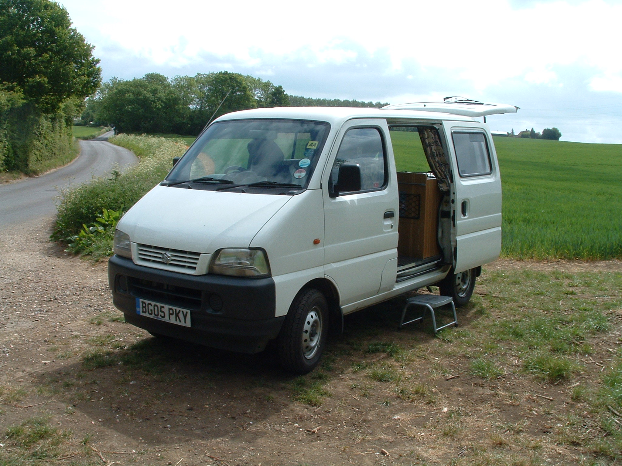 Suzuki Carry Campervan Conversion
