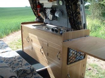 Campervan Conversion Bed Bench Seat